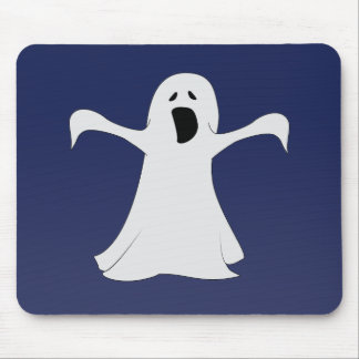 Ghost Mousepad in Blue