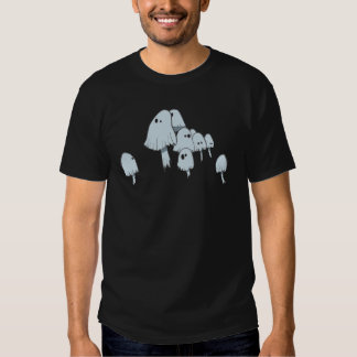 Ghost Mushrooms Tee Shirt