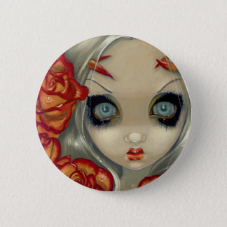 """Ghost of a Rose"" Button"