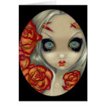"""""""Ghost of a Rose"""" Greeting Card"""