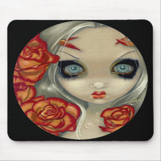 """Ghost of a Rose"" Mousepad"