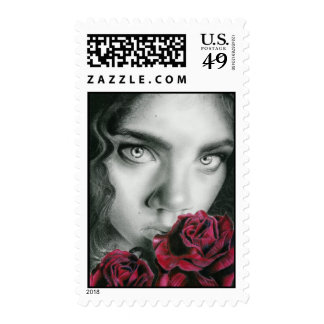 Ghost of a Rose Postage