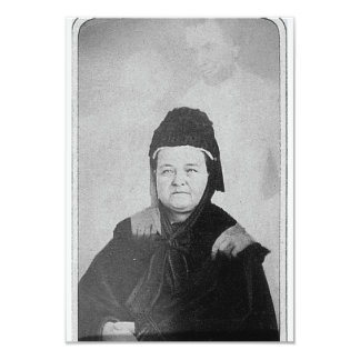 Ghost of Abraham Lincoln with Mary Lincoln 1869 Card