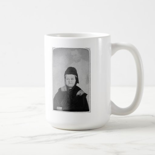 Ghost of Abraham Lincoln with Mary Lincoln 1869 Coffee Mug