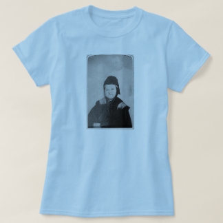Ghost of Abraham Lincoln with Mary Lincoln 1869 T-Shirt