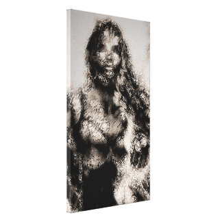 «Ghost of Bella» Wrapped Canvas Print