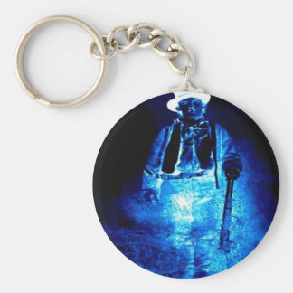 Ghost of Billy The Kid - Basic Round Button Keychain