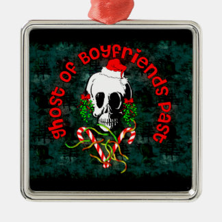 Ghost of Boyfriends Past Metal Ornament