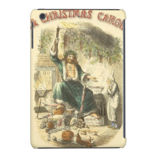Ghost of Christmas Present and Ebenezer Scrooge iPad Mini Cover