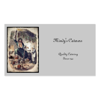 Ghost of Christmas Present Business Card Templates