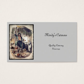 Ghost of Christmas Present Business Card