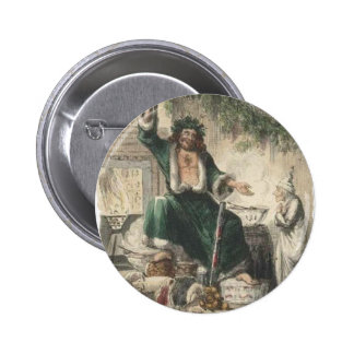 Ghost of Christmas Present Pinback Button