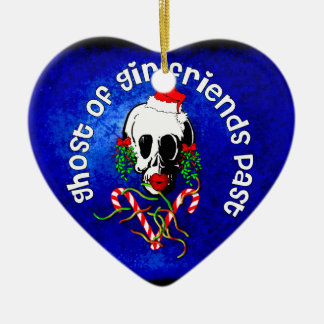 Ghost of Girlfriends Past Ceramic Ornament