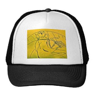 GHOST OF PIANIST TRUCKER HAT
