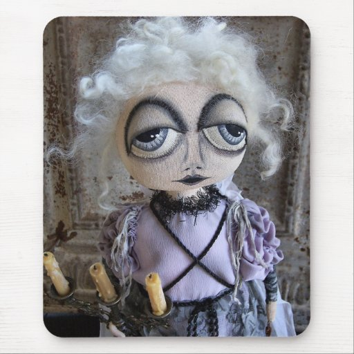 Ghost of Sarah Winchester Mousepad