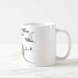 Ghost of The Zombie Count Frankenwolf Mummy Coffee Mugs