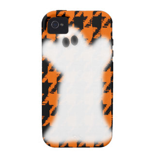 Ghost On Halloween Houndstooth iPhone 4 Cover