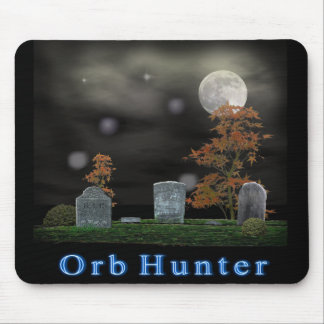 ghost orb hunter mouse pad