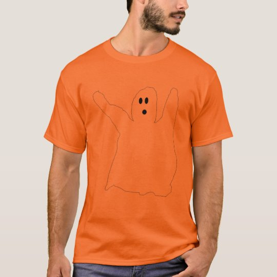Ghost outline apparel T-Shirt