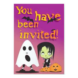 Ghost Party Invitation