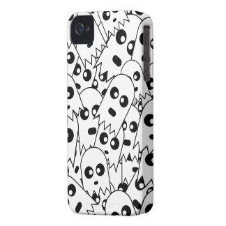 Ghost Pattern iPhone 4 Case-Mate Case