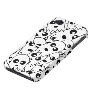 Ghost Pattern iPhone 4 Case