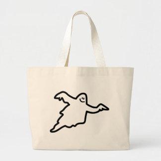 Ghost phantom tote bags