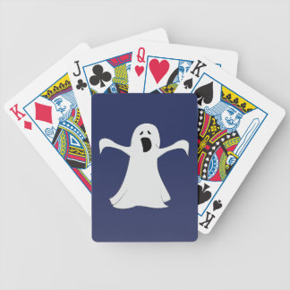 Ghost Playing Card Set in Blue