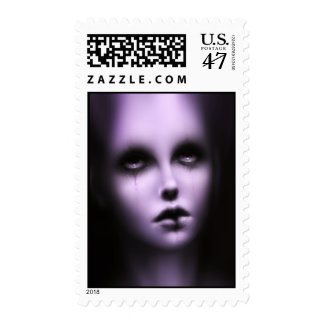Ghost Postage Stamp