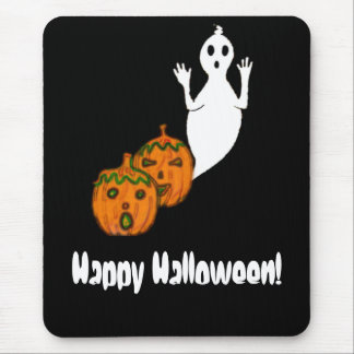 Ghost & Pumpkins Mouse Pad