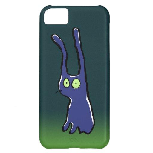 ghost rabbit iPhone 5C case