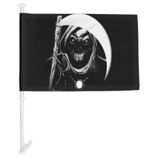 Ghost Reaper Flag Car Flag