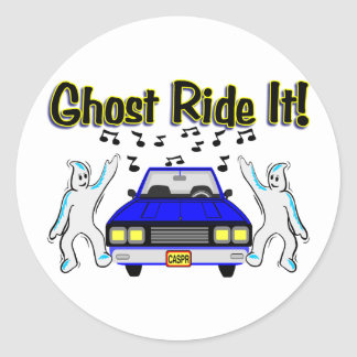 Ghost Ride It Classic Round Sticker