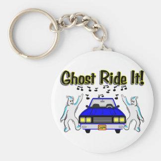 Ghost Ride It Keychain