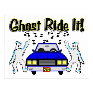 Ghost Ride It Postcard