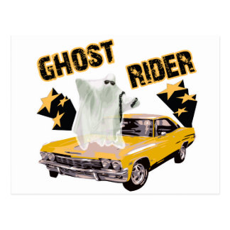 Ghost Ride The Whip Postcard