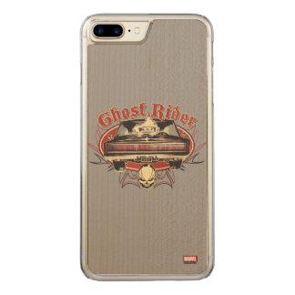 Ghost Rider Badge Carved iPhone 8 Plus/7 Plus Case