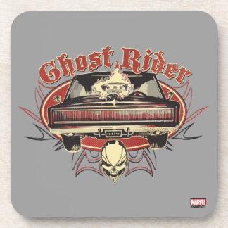 Ghost Rider Badge Coaster