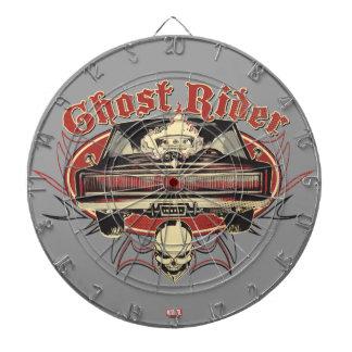 Ghost Rider Badge Dartboards