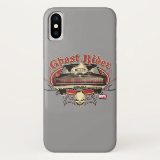 Ghost Rider Badge iPhone X Case