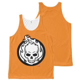 Ghost Rider Icon All-Over-Print Tank Top