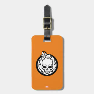 Ghost Rider Icon Bag Tag