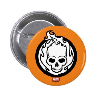Ghost Rider Icon Button