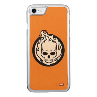 Ghost Rider Icon Carved iPhone 7 Case