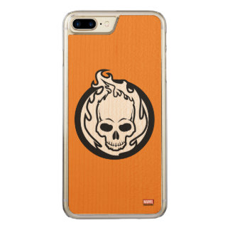 Ghost Rider Icon Carved iPhone 7 Plus Case