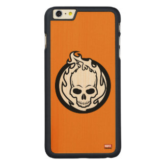 Ghost Rider Icon Carved Maple iPhone 6 Plus Slim Case