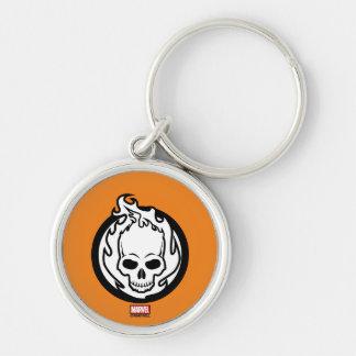Ghost Rider Icon Keychain