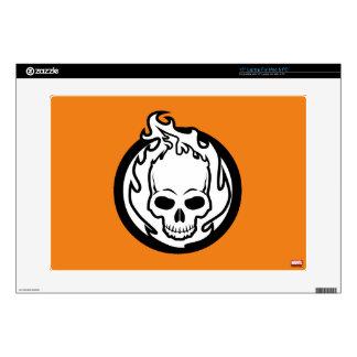 Ghost Rider Icon Laptop Skins