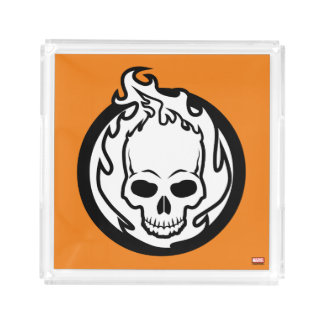 Ghost Rider Icon Serving Tray