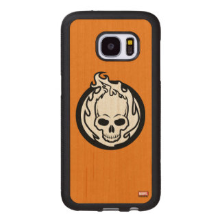 Ghost Rider Icon Wood Samsung Galaxy S7 Case